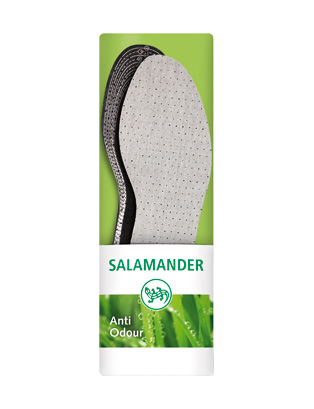 SALAMANDER® Anti-Odour стелька с активированным углём, универсальная